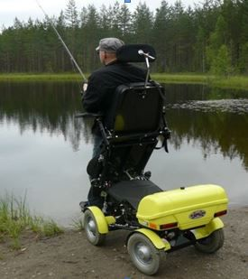 mybility-all terrain wheelchairs-Four X DL SSS
