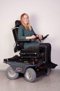 Mybility Four X Urban 4x4 wheelchair